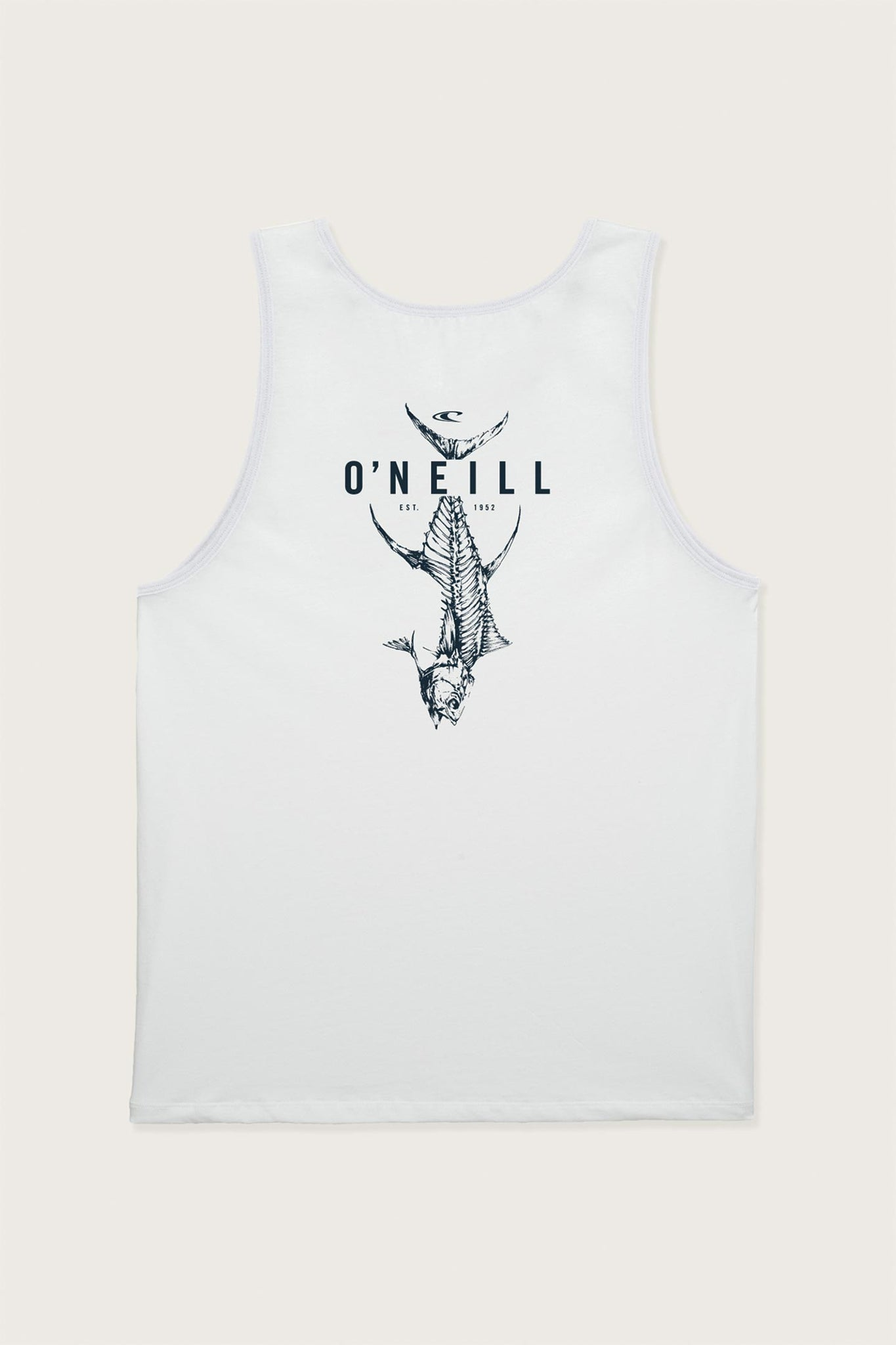 Fishbone Tank - White | O'Neill