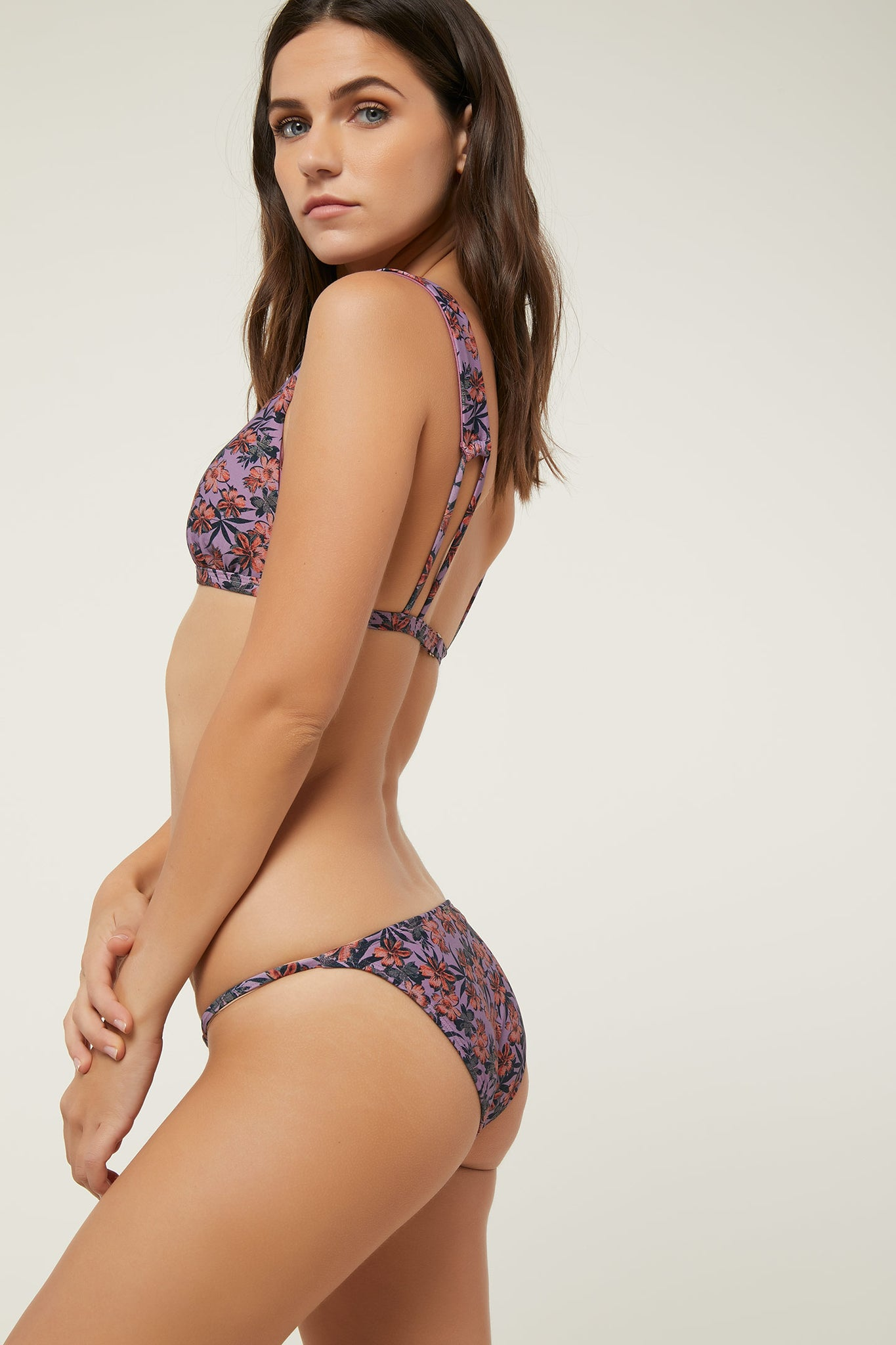 Floral Horizon Bottoms - Mauve Purple | O'Neill