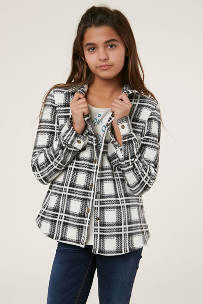 GIRLS SUPERFLEECE FUN TIMES FLANNEL