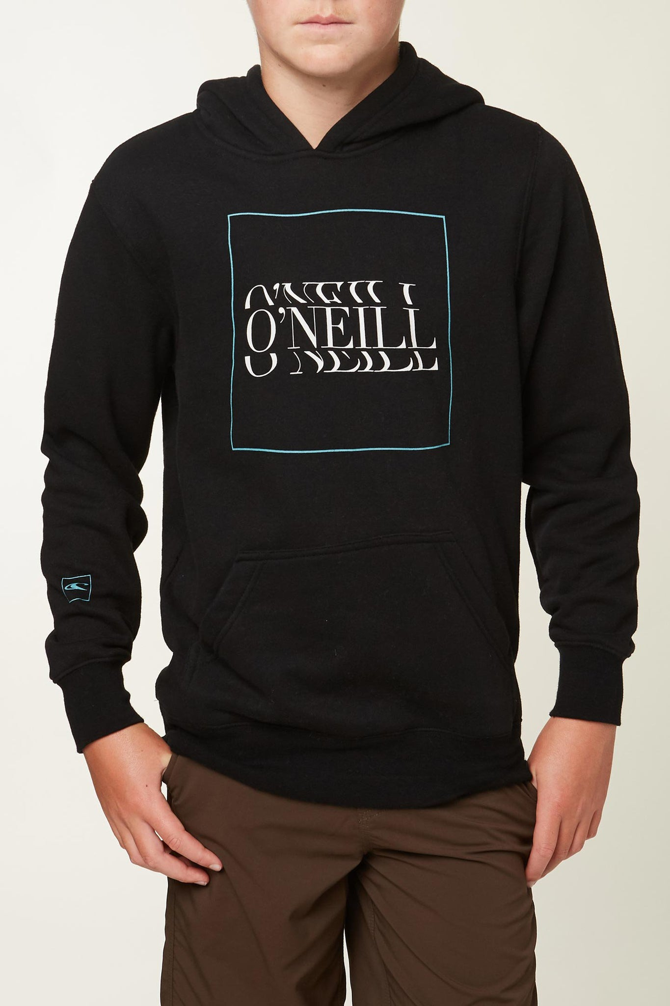Little Boys Fusion Hooded Pullover - Black | O'Neill