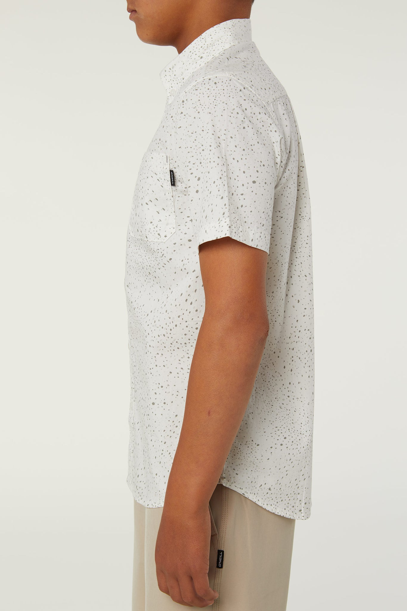 Boys Galaxsea Shirt - White | O'Neill