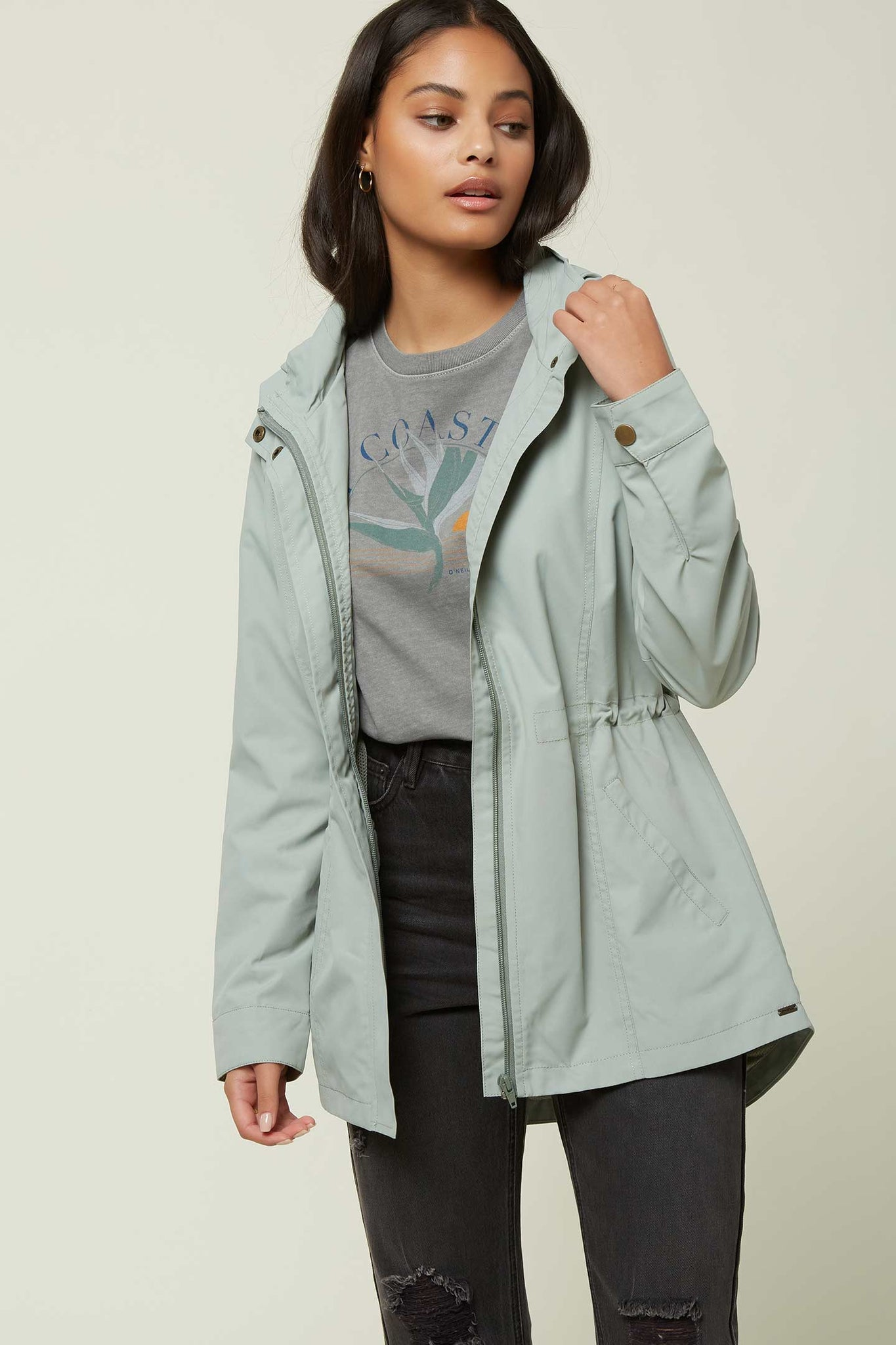 Gayle Jacket - Washed Green | O'Neill