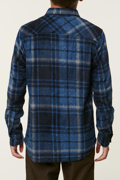 BOYS GLACIER PLAID FLANNEL