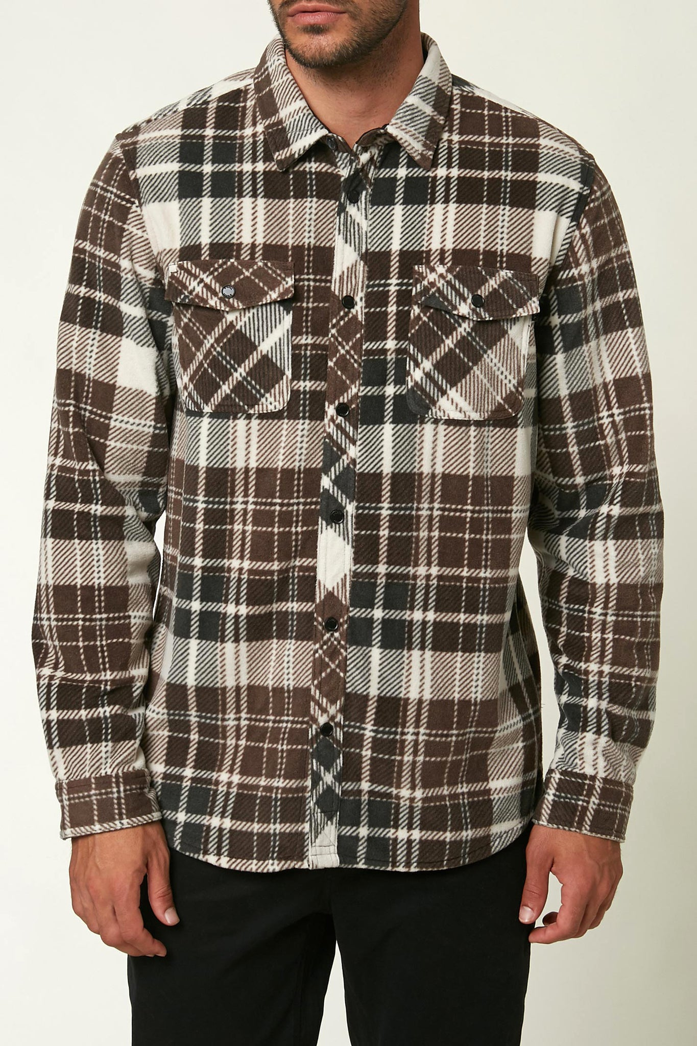 Glacier Plaid Superfleece Flannel | O'Neill