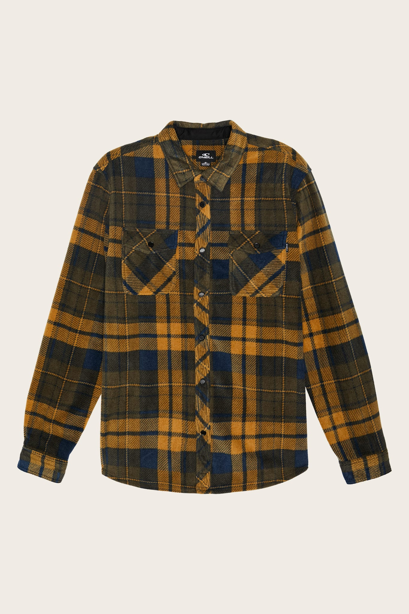 Glacier Plaid Superfleece Flannel - Navy | O'Neill