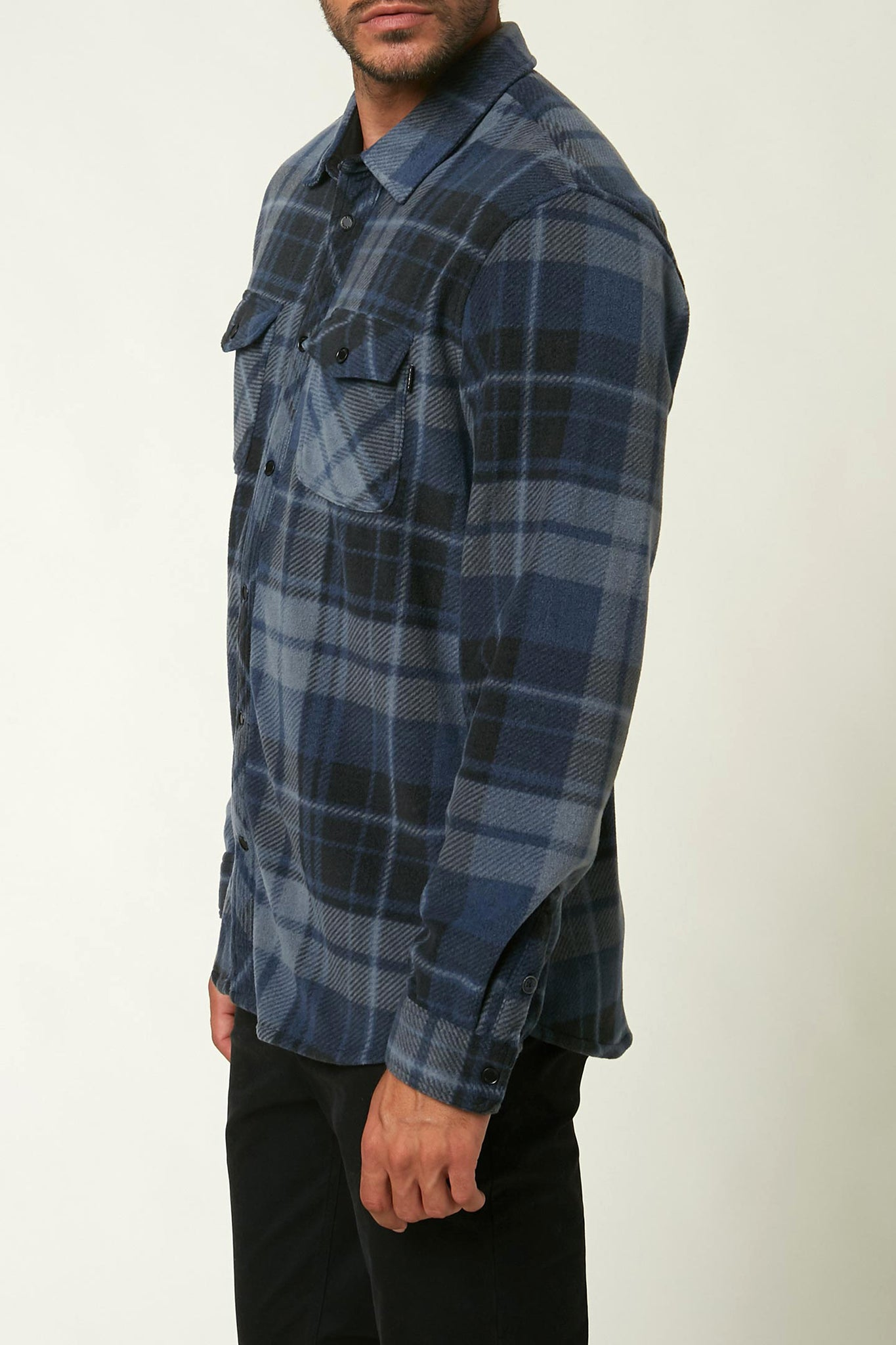 Glacier Plaid Superfleece Flannel | O'Neill Clothing USA