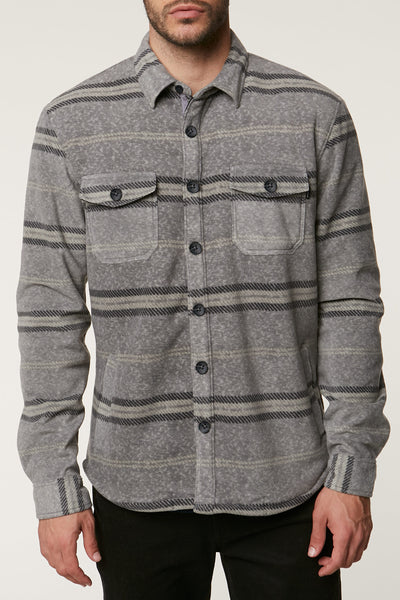 SUPERFLEECE GLACIER SHERPA LINED FLANNEL