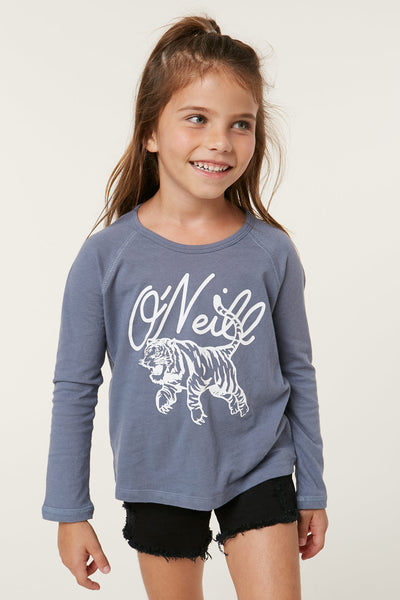 LITTLE GIRLS GO GET EM LONG SLEEVE TEE