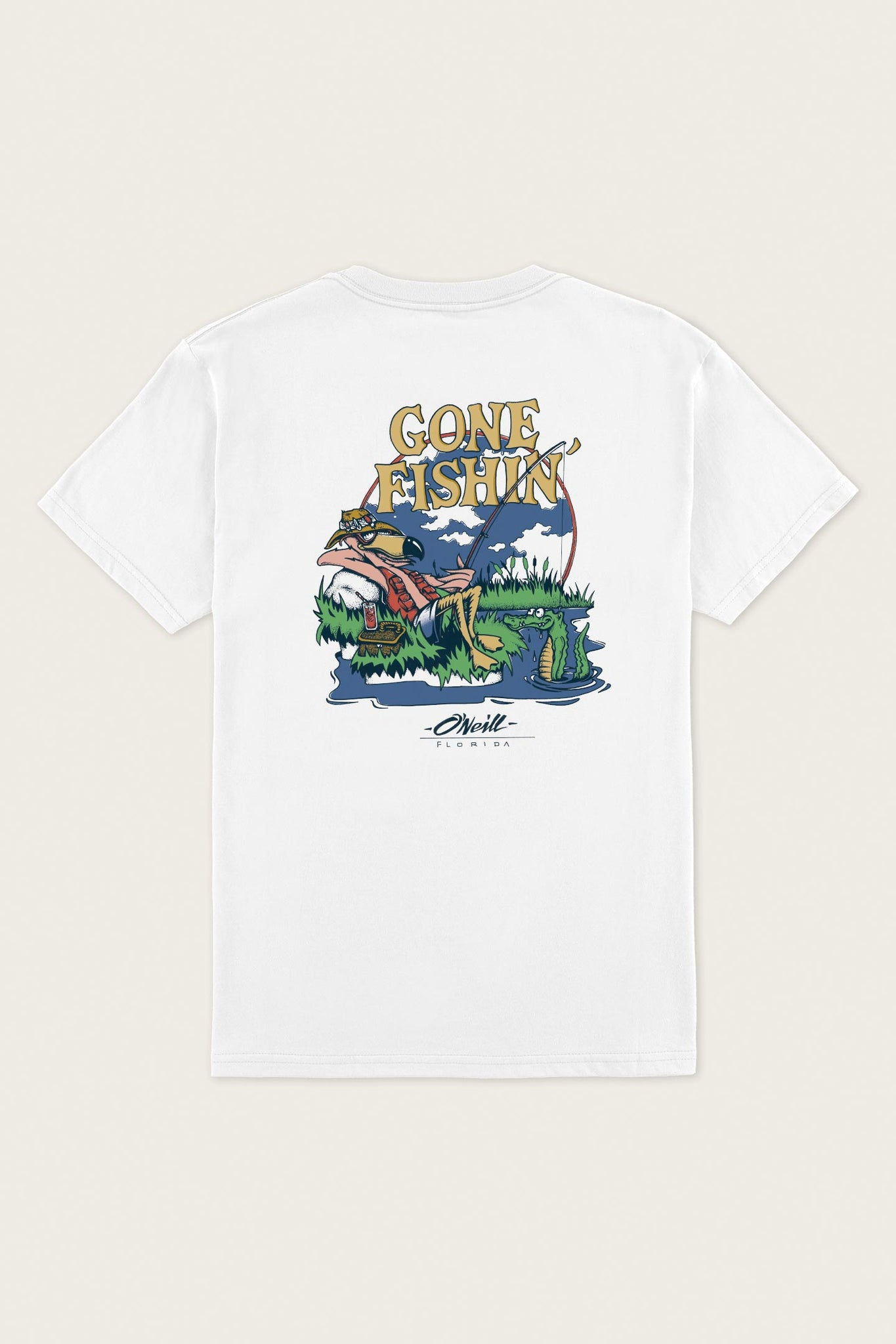 Gone Fishin Tee - White | O'Neill