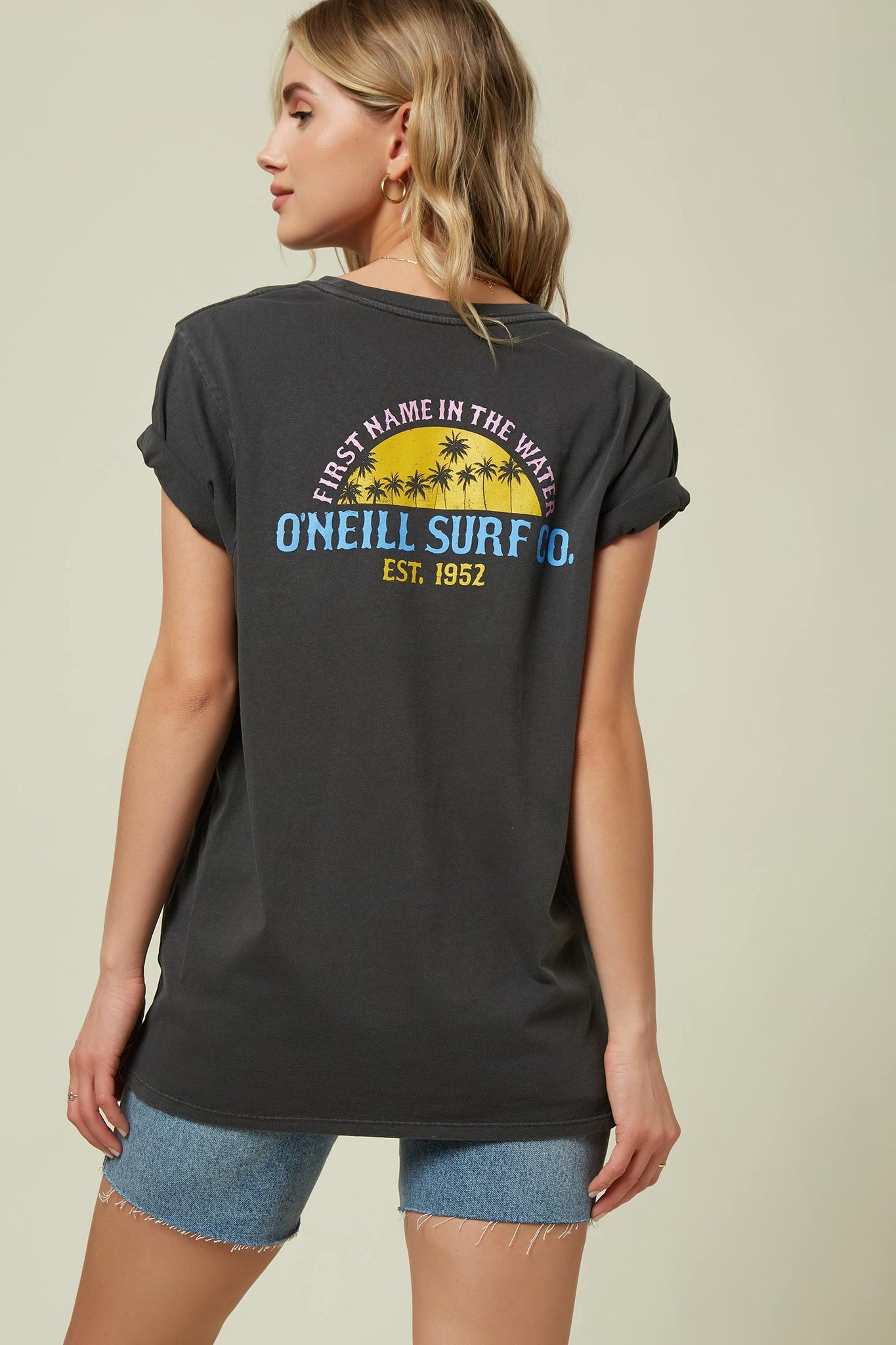Goodies Tee - Washedblk | O'Neill