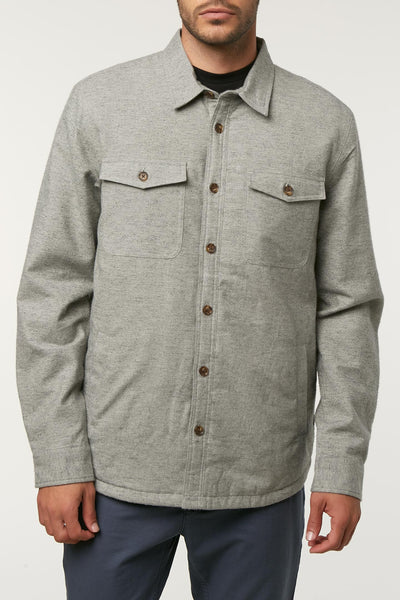GRAVEL LINED FLANNEL
