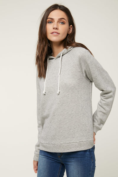 HALISTER STRIPE HOODED PULLOVER