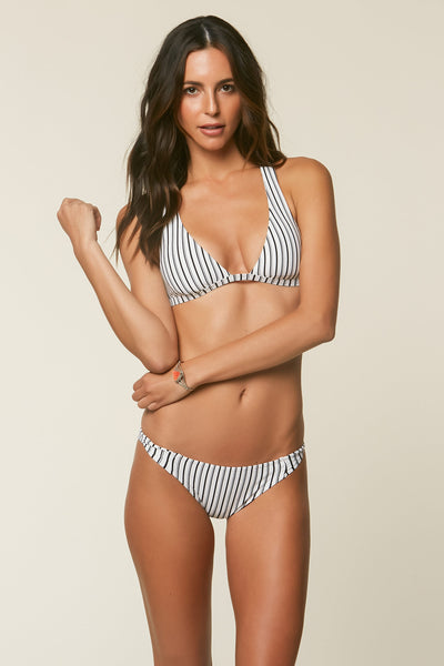 HIGHWAY STRIPE TWIST TAB SIDE BOTTOMS