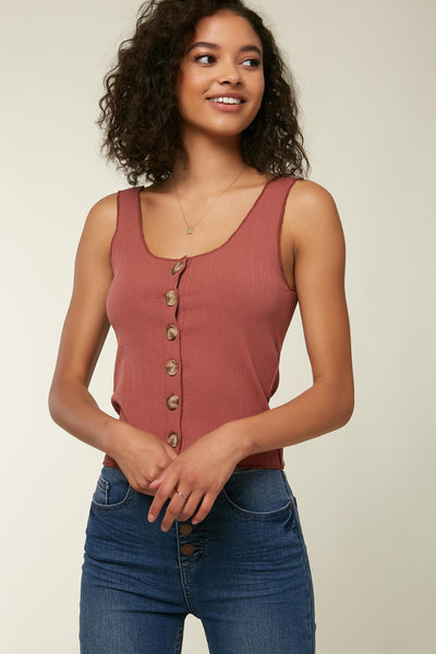 HILL RIBBED TANK TOP