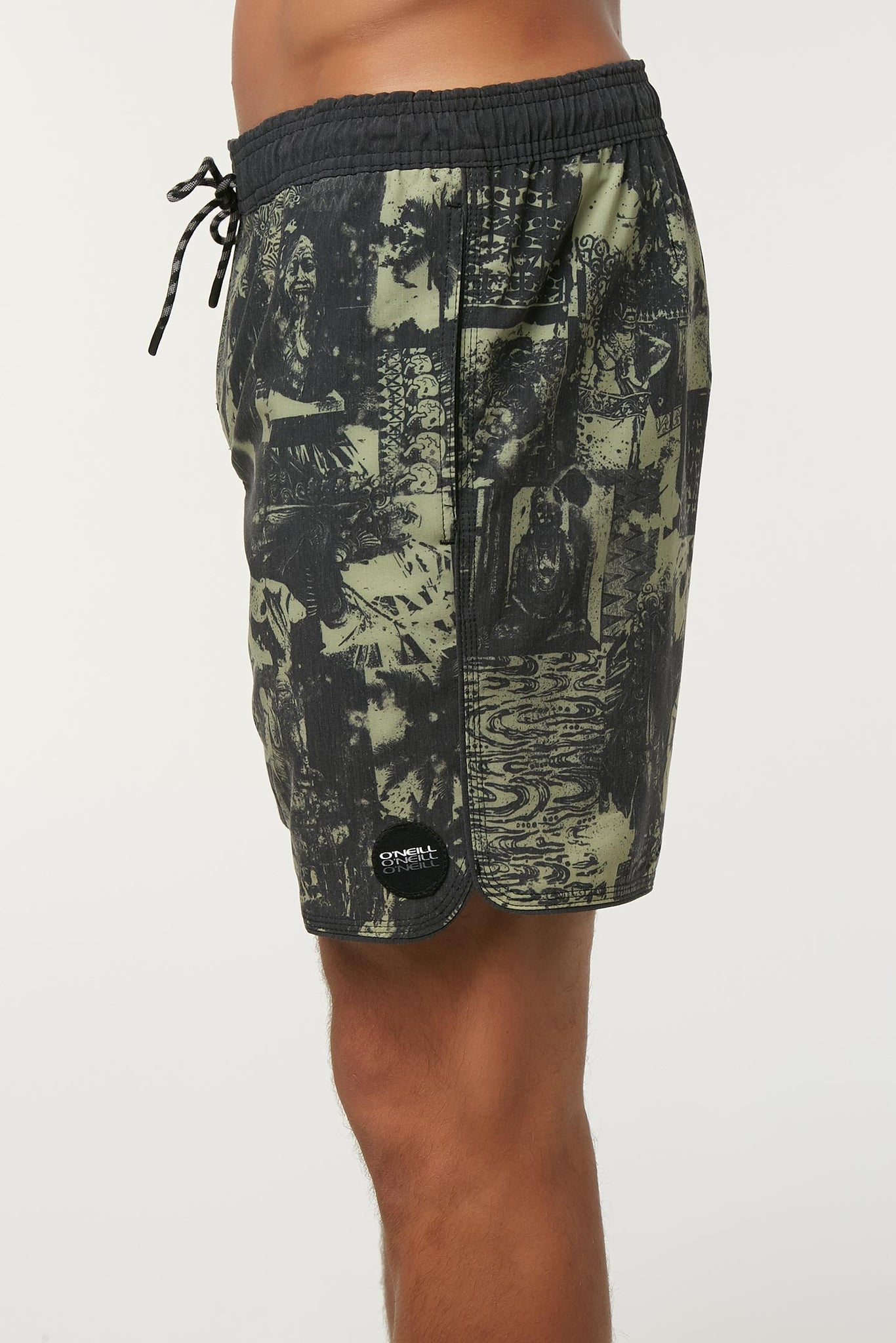 Hodge Podge Volley Boardshorts - Army | O'Neill