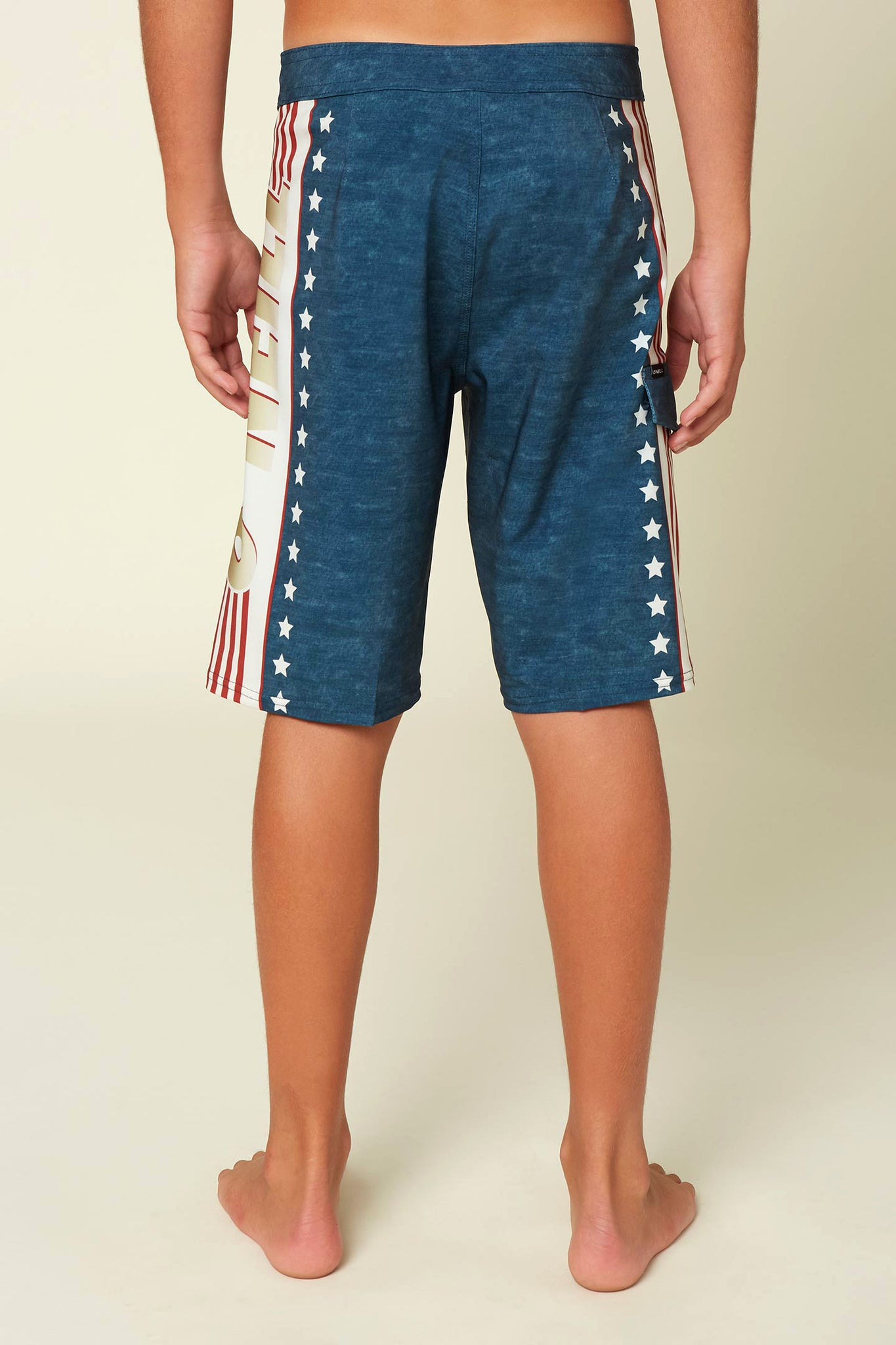 Boys Hyperfreak O'Neivel Boardshorts - Red White Blue | O'Neill