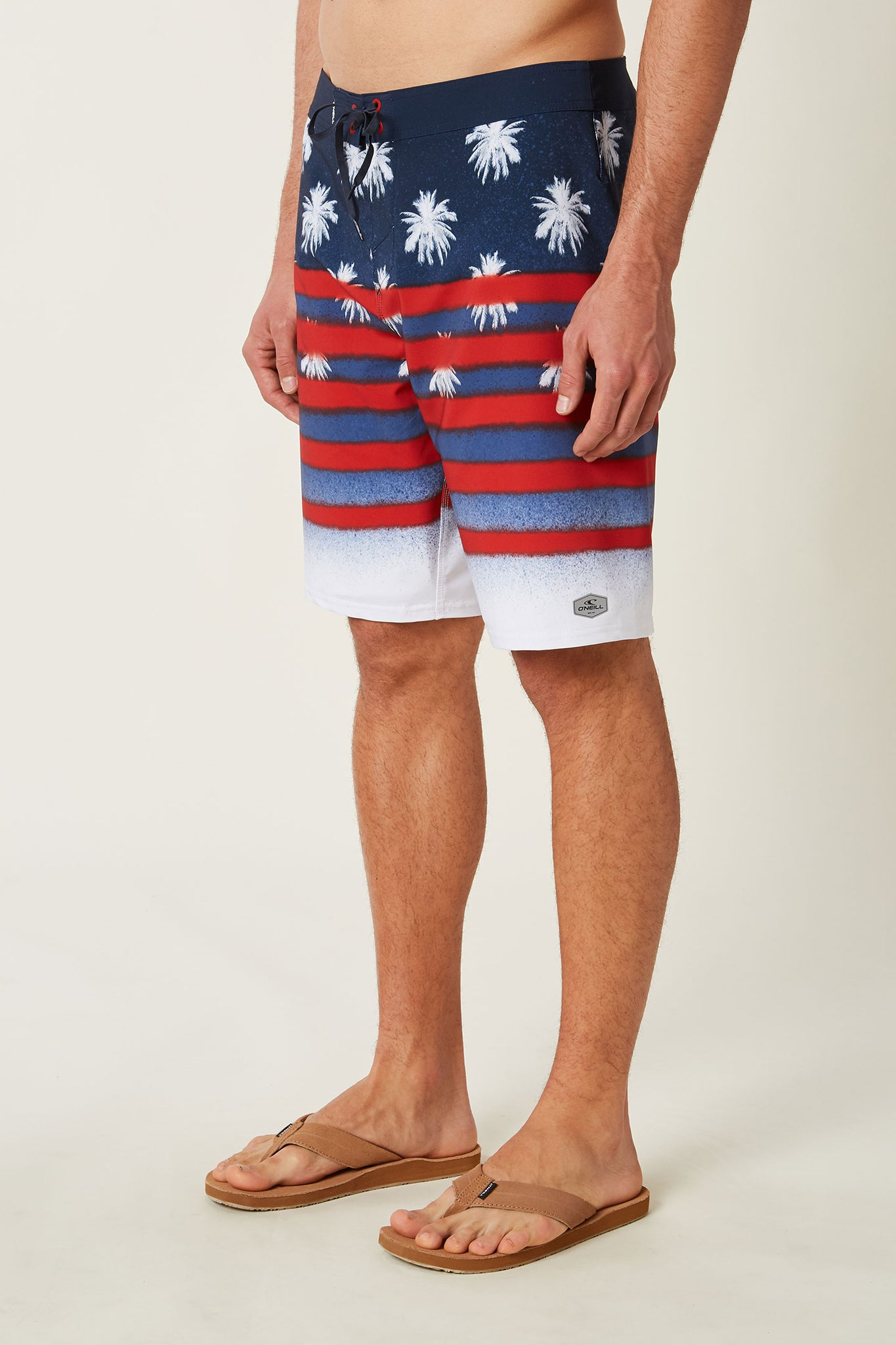 Hyperfreak Sarfin Usa Boardshorts - Red White Blue | O'Neill