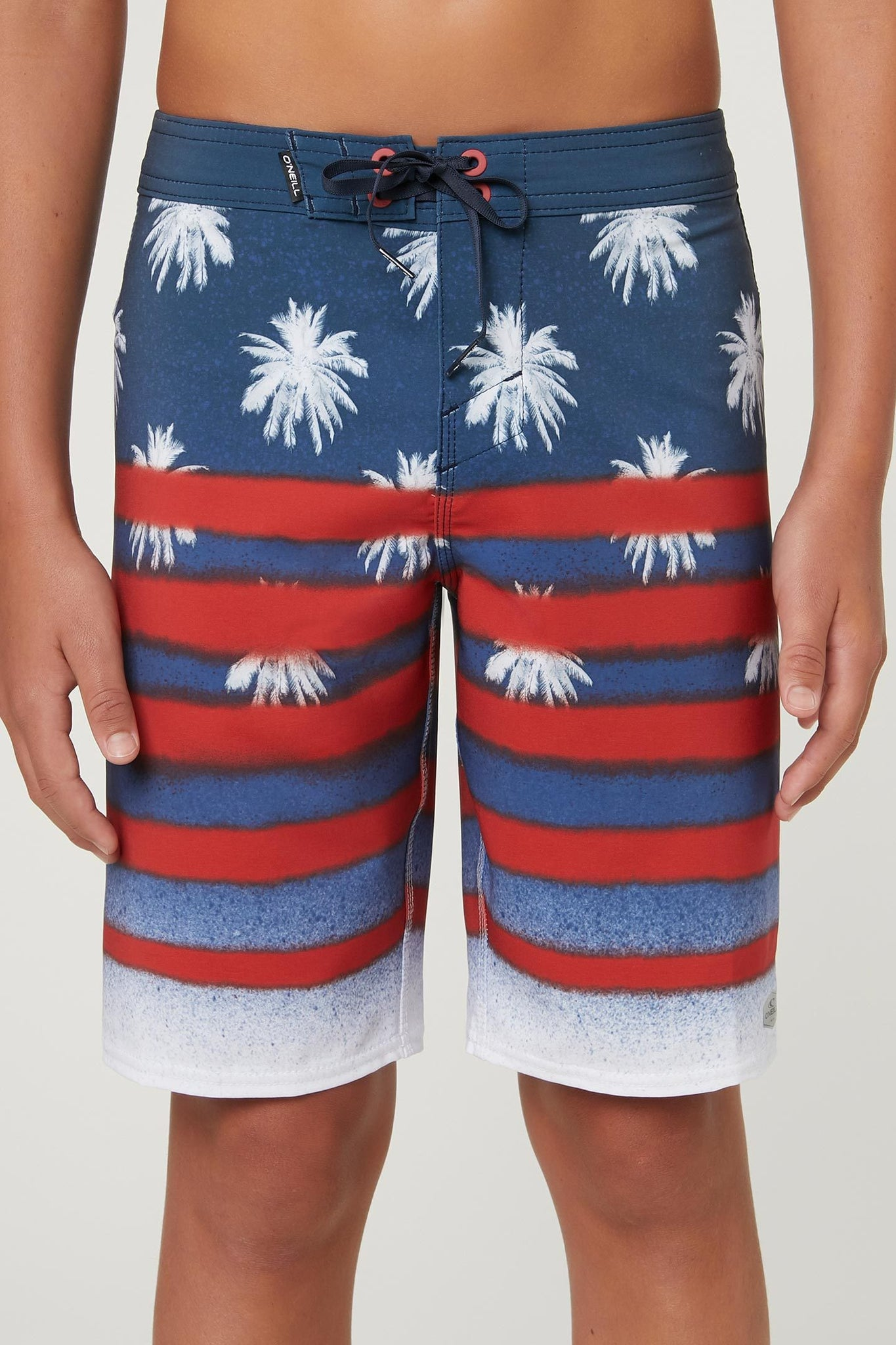 Little Boys Hyperfreak Sarfin Usa Boardshorts - Red White Blue | O'Neill