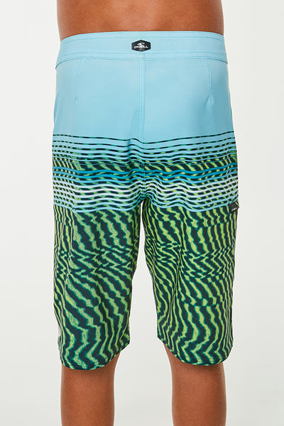 BOYS HYPERFREAK WAVELENGTH BOARDSHORTS