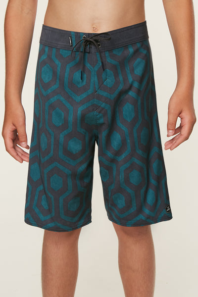 BOYS HYPERFREAK WRENCHED BOARDSHORTS