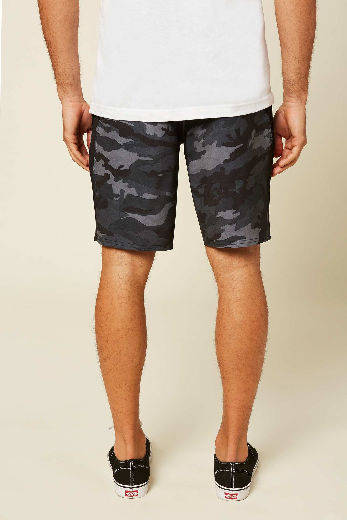 Interval Hybrid Shorts - Black Camo | O'Neill