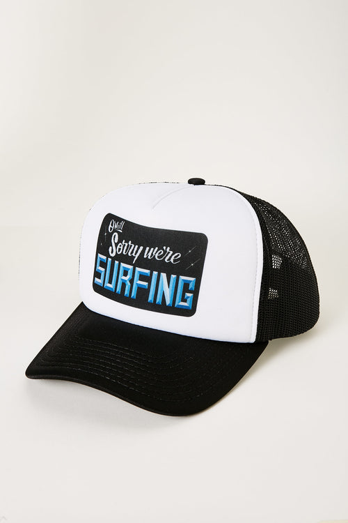 INTL SURF DAY TRUCKER BLACK