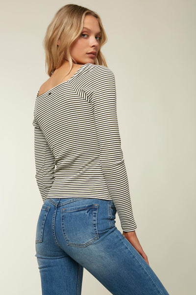 JACINDA LONG SLEEVE TOP