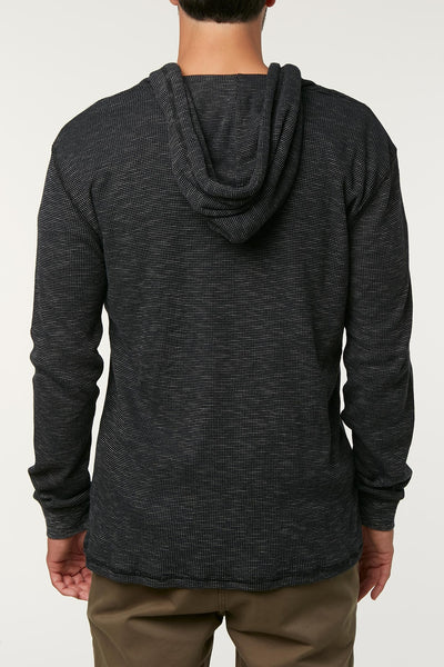 JASPER THERMAL HOODED PULLOVER