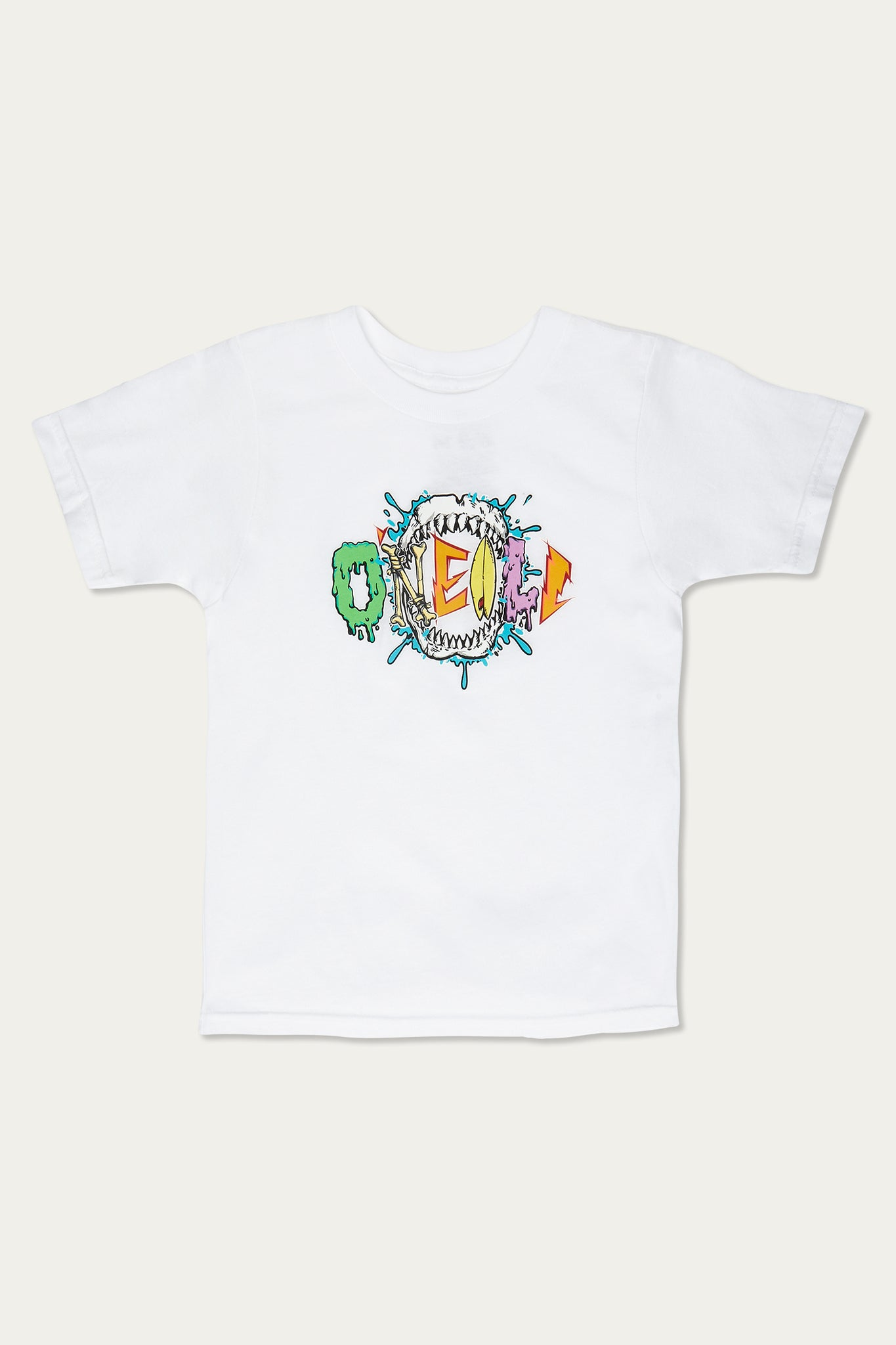 Little Boys Jaws Tee - White | O'Neill