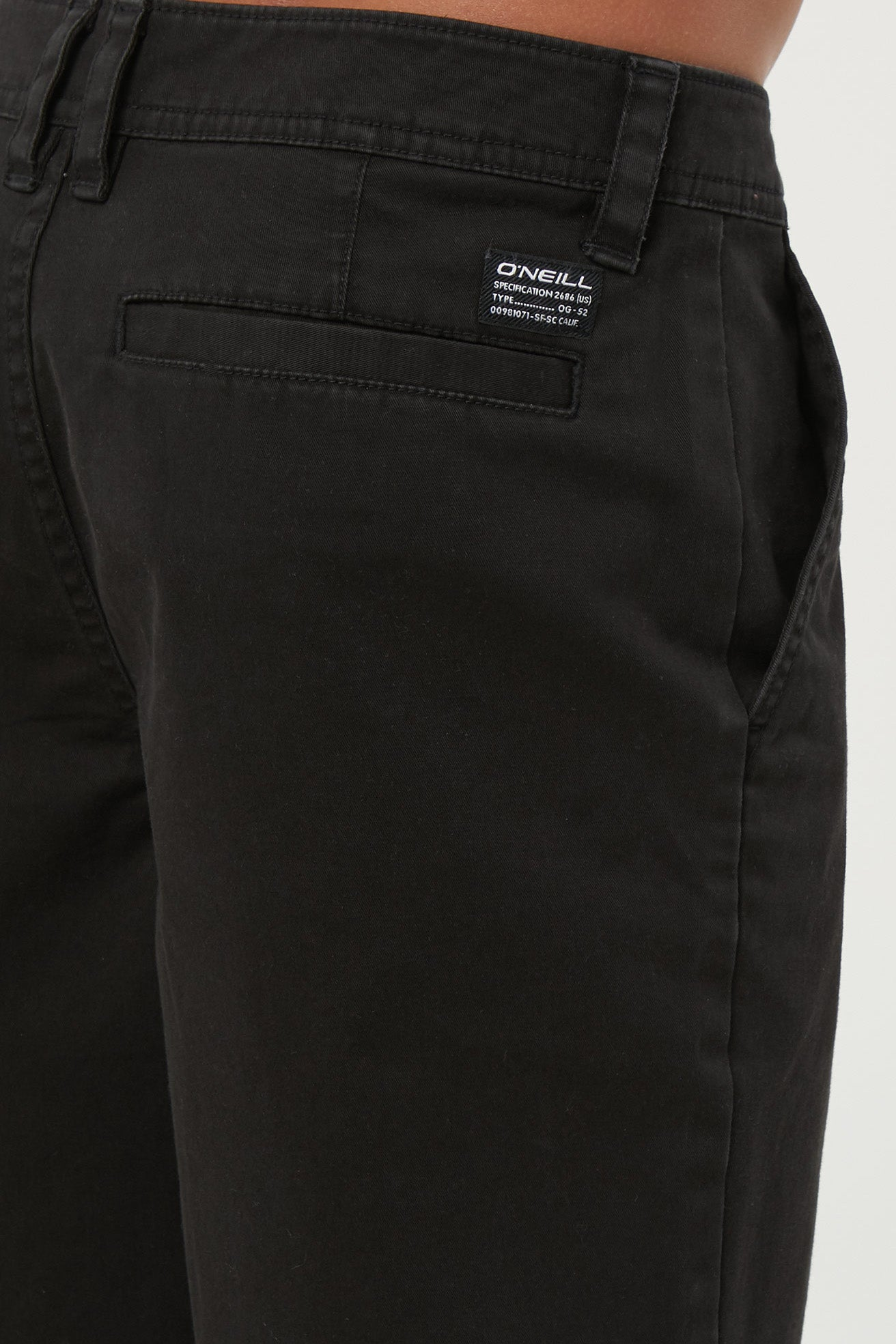 Boys Jay Chino Shorts - Black | O'Neill