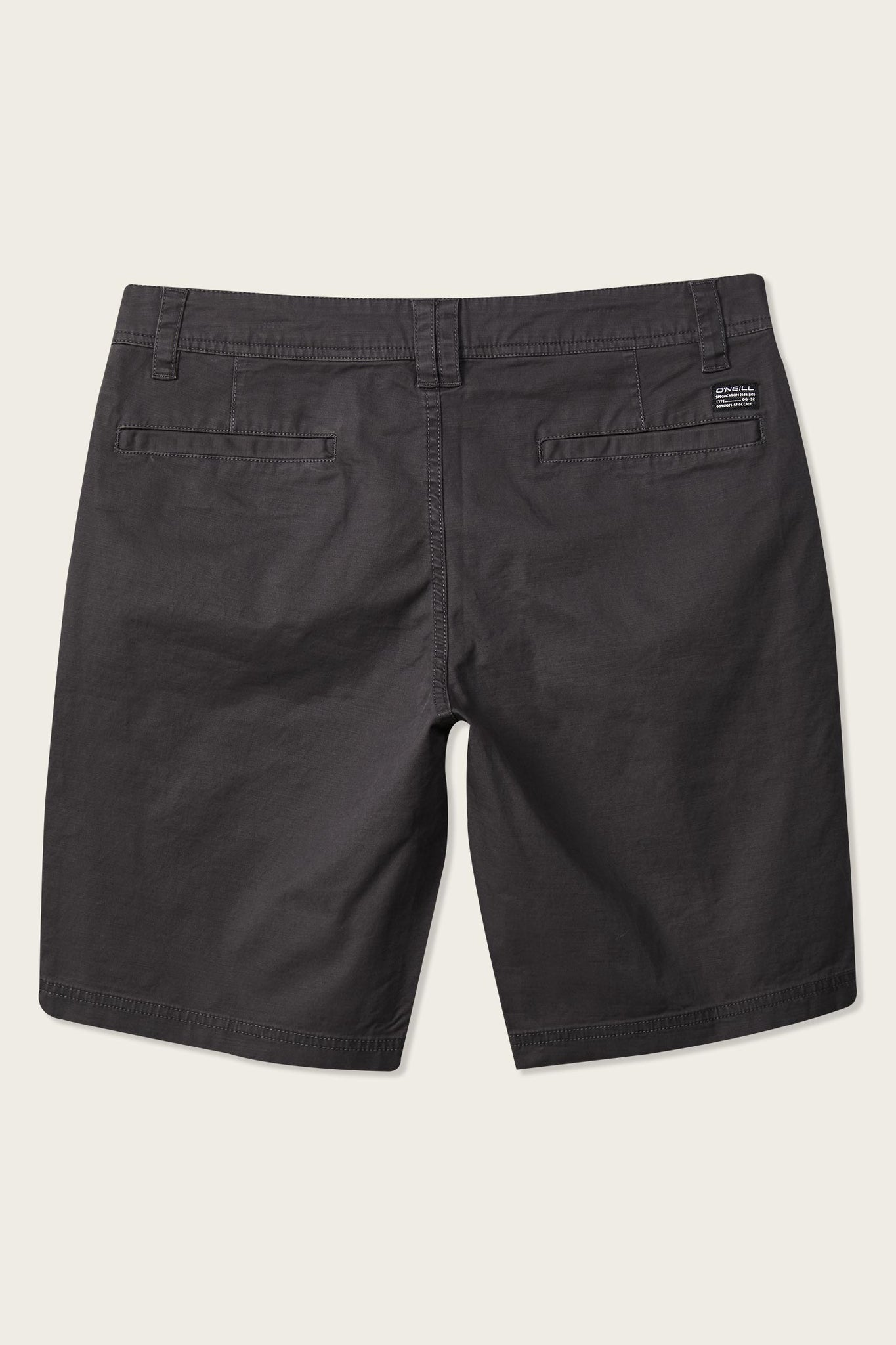 Jay Stretch Chino Shorts - Asphalt | O'Neill