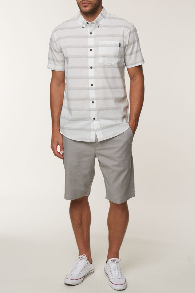 Jay Stretch Chino Shorts - Light Grey | O'Neill