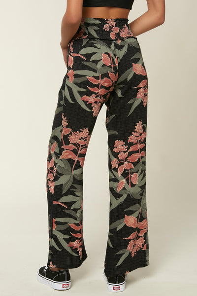 JOHNNY FLORAL BEACH PANTS