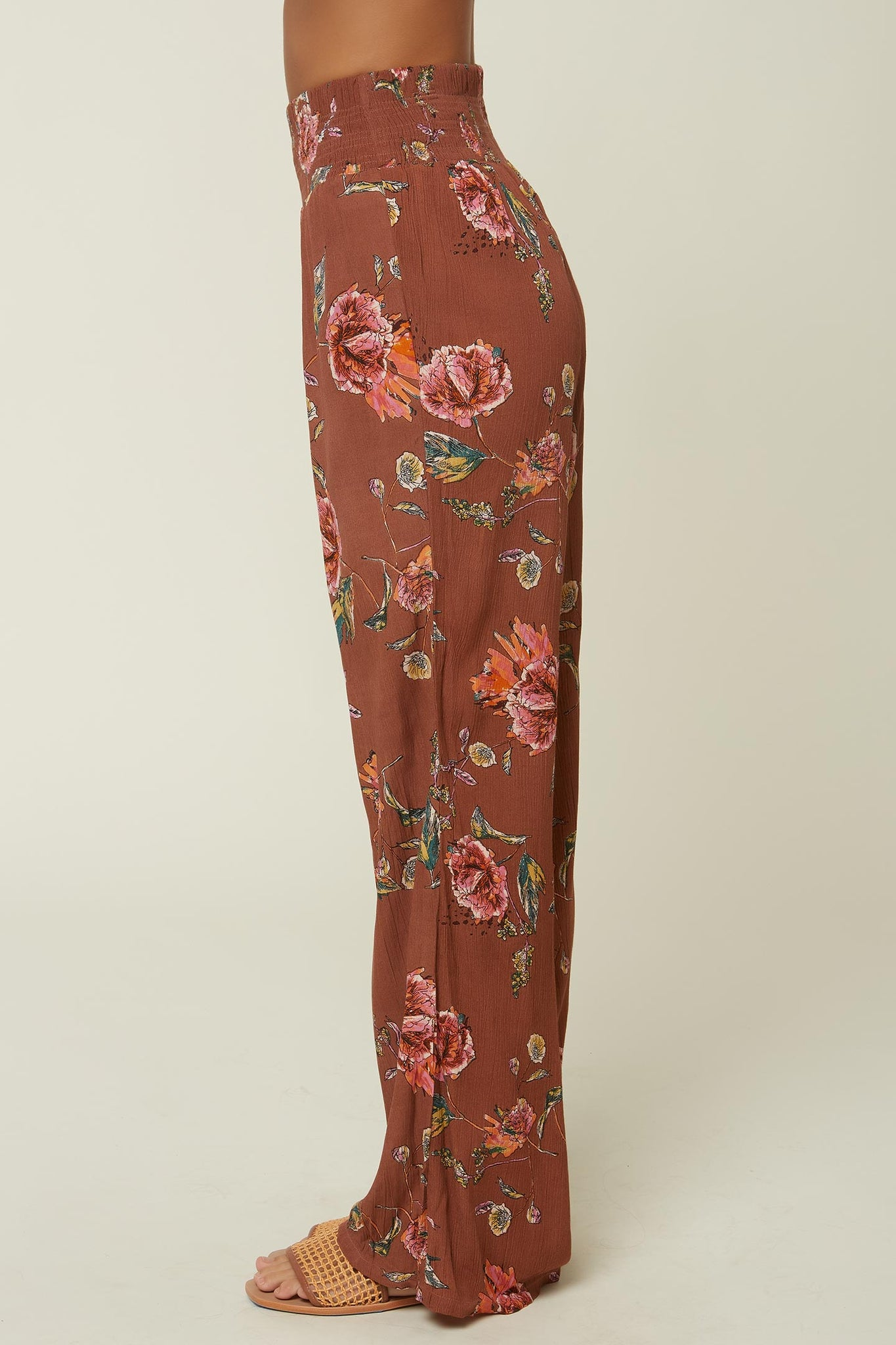 Johnny Floral Pants - Cognac | O'Neill