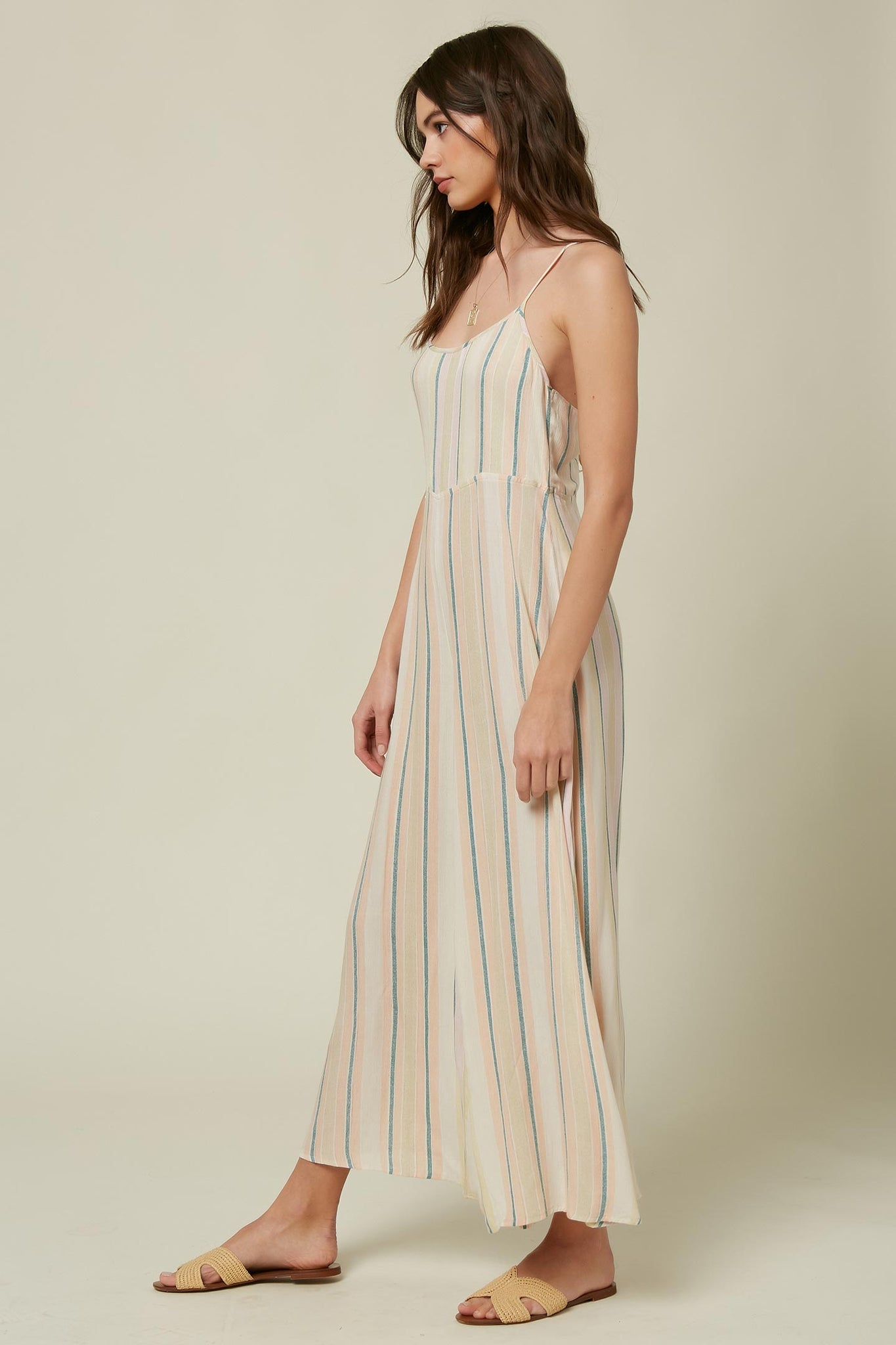 Juls Stripe Jumpsuit - Multi Colored | O'Neill