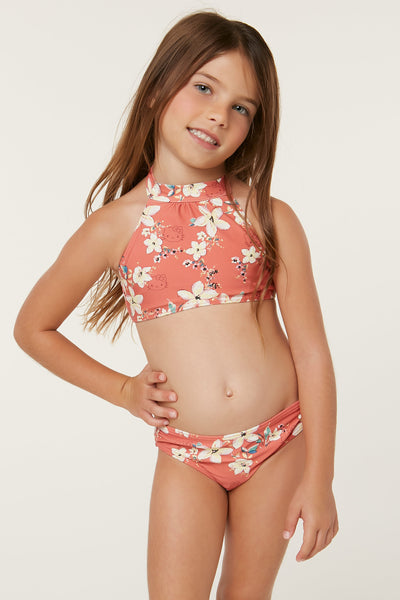 HELLO KITTY X O'NEILL KALEI HALTER SWIM SET