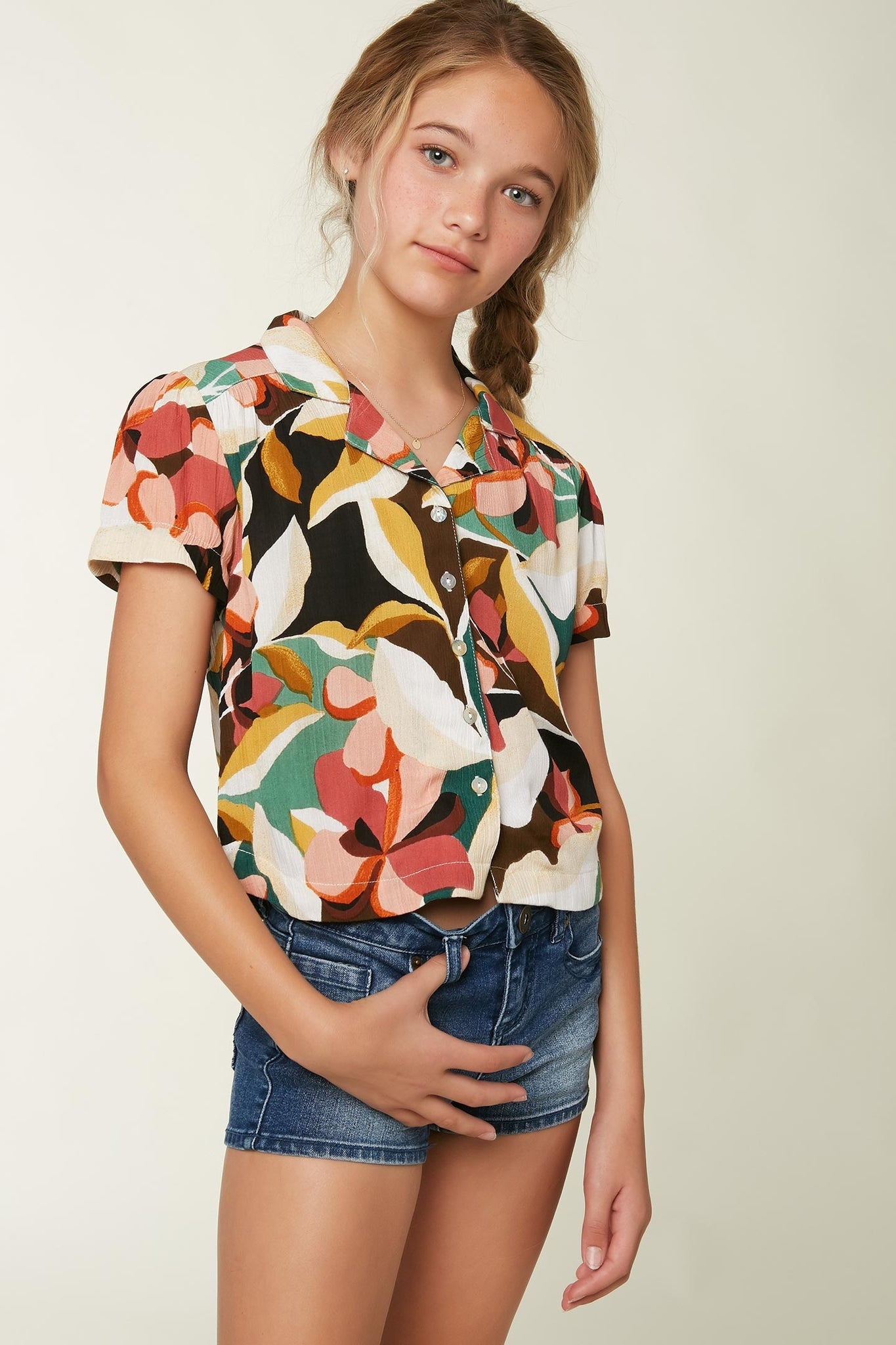 Girls Klarissa Top - Multi Colored | O'Neill