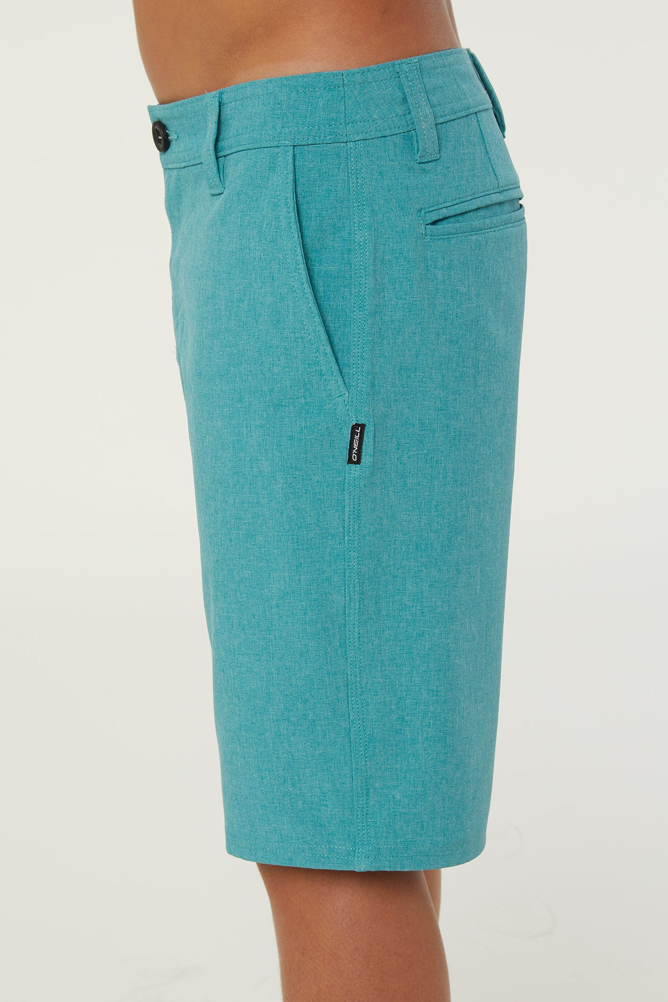 Boys Reserve Heather Hybrid Shorts - Teal | O'Neill