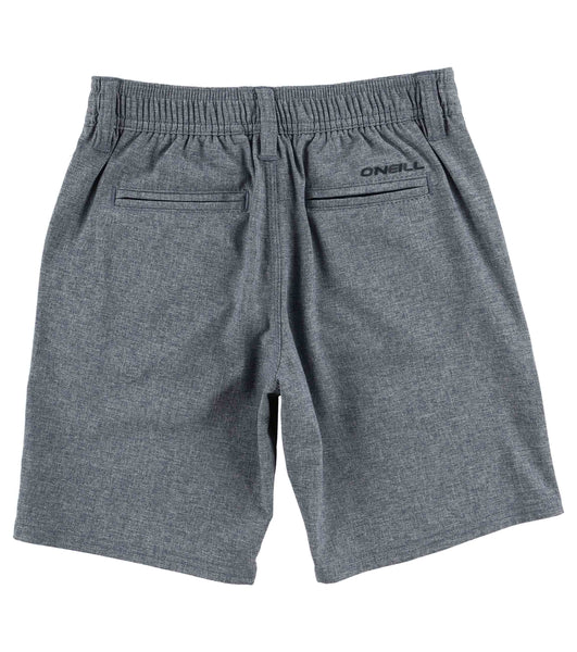 BOYS TODDLERS LOADED HEATHER HYBRID BOARDSHORTS