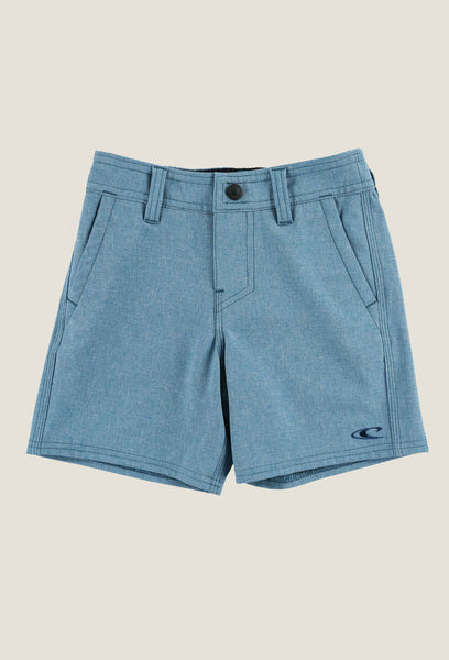LITTLE BOYS LOADED HEATHER HYBRID SHORTS