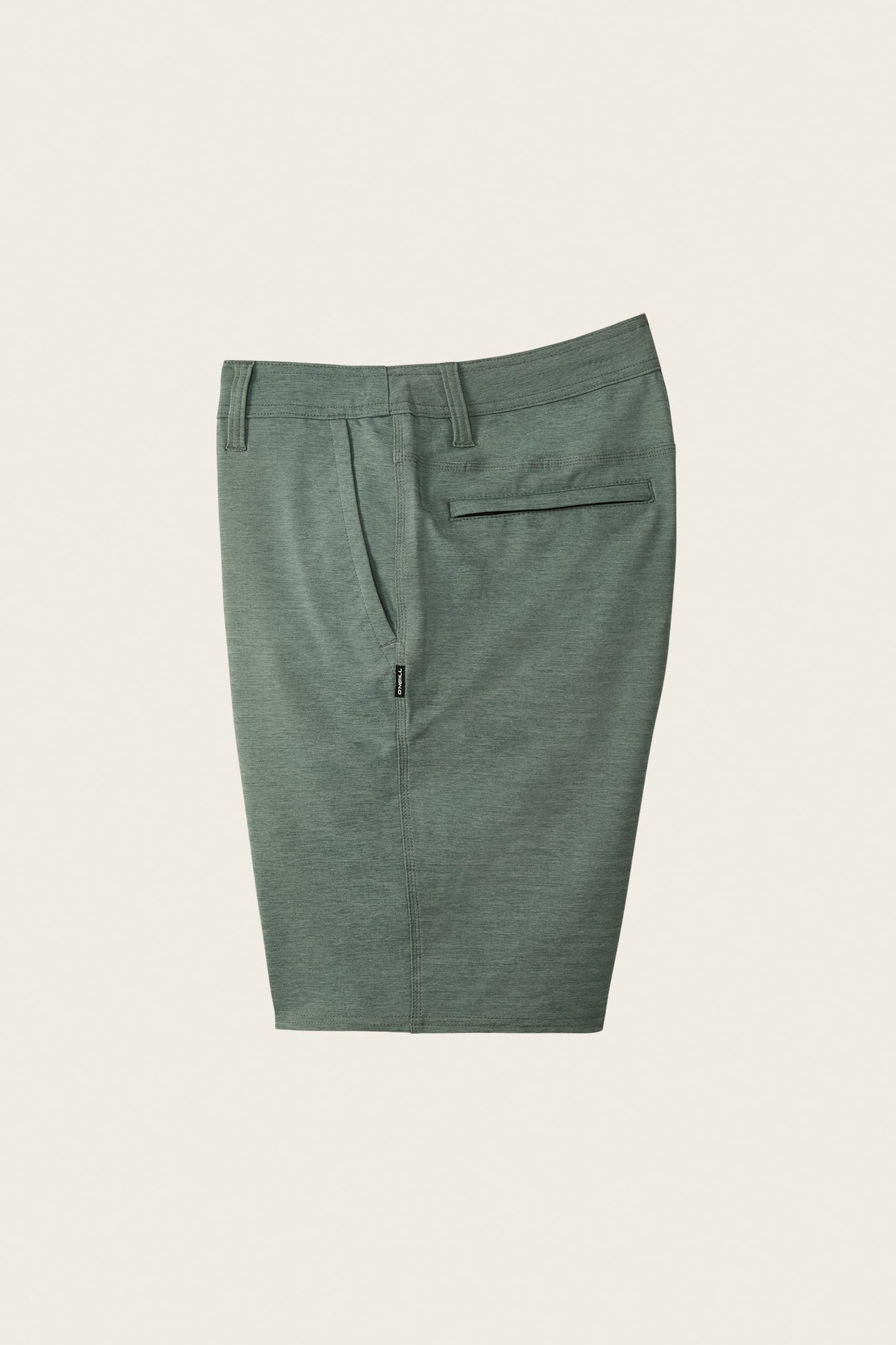 Locked Herringbone Hybrid Shorts - Washed Ivy | O'Neill