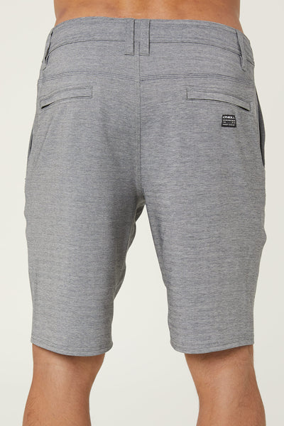 LOCKED HERRINGBONE HYBRID SHORTS
