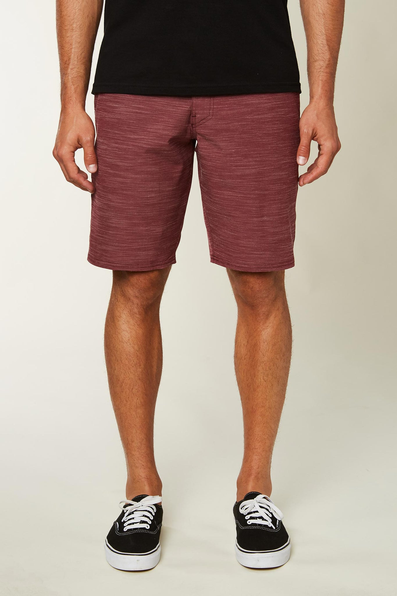Locked Slub Hyrbid Shorts - Wine | O'Neill