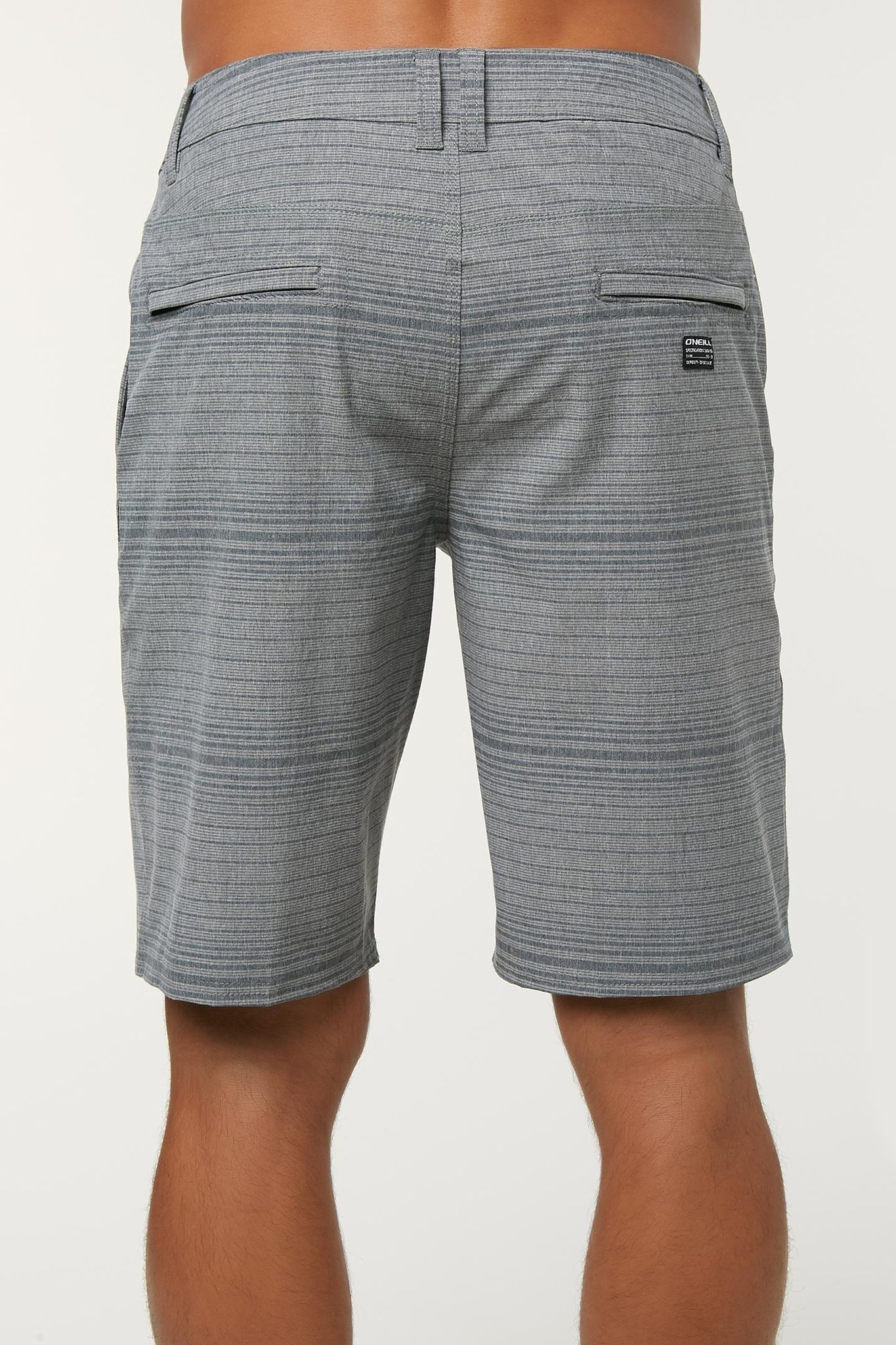 Locked Stripe Hybrid Shorts - Navy | O'Neill