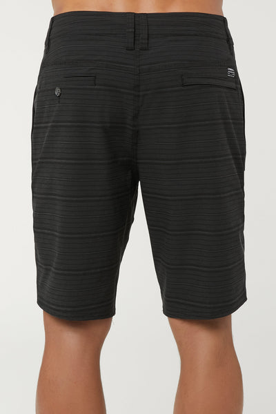 LOCKED STRIPE HYBRID SHORTS