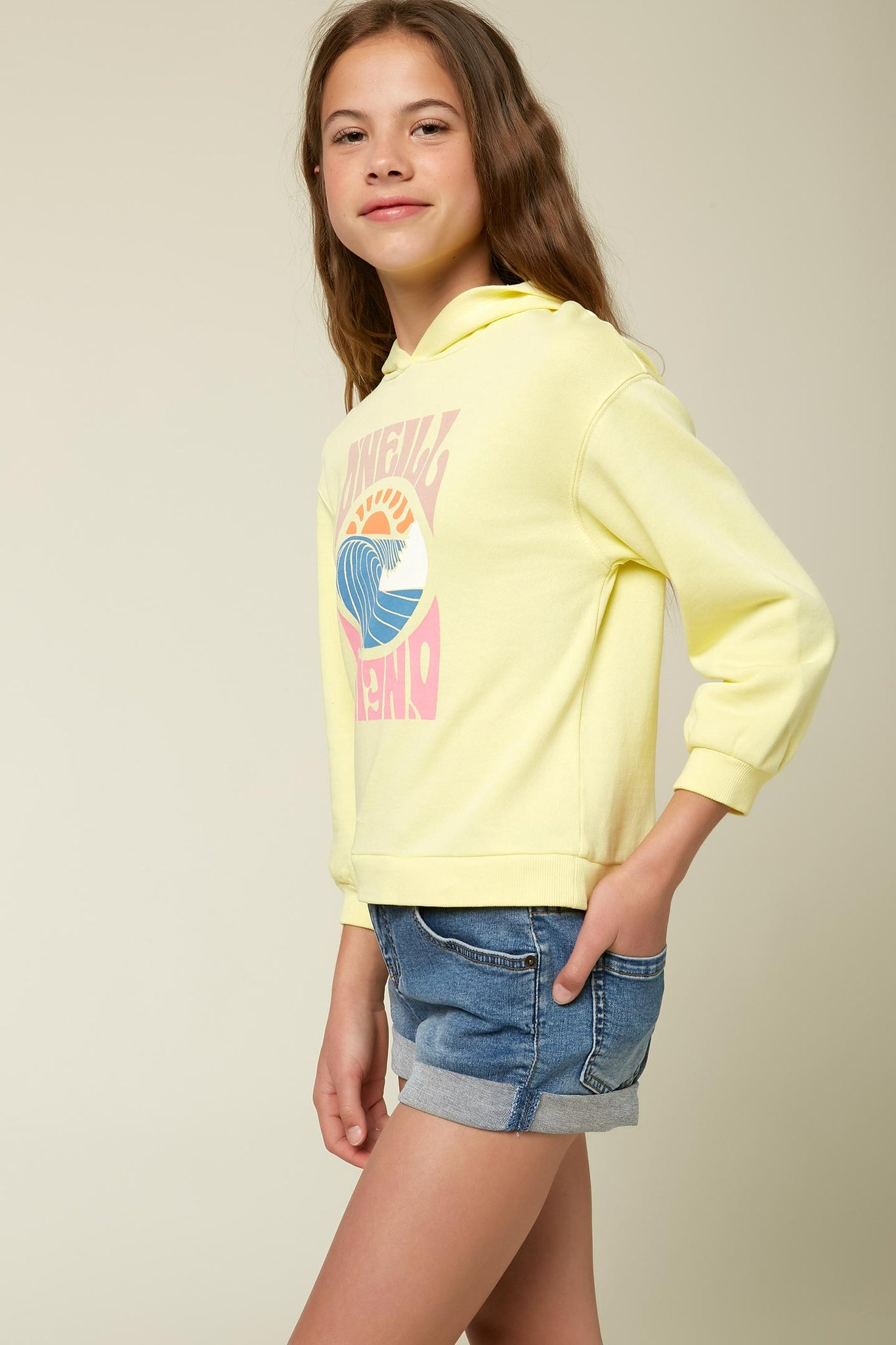 Girls Luisa Pullover Hoodie | O'Neill