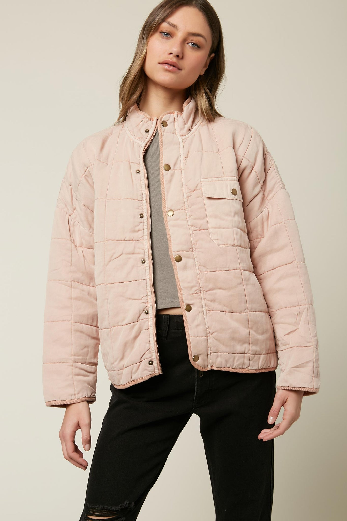 MABLE QUILTED JACKET