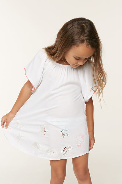 HELLO KITTY X O'NEILL LITTLE GIRLS MIA COVER-UP