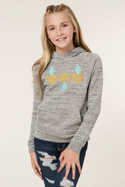 GIRLS MINI PINEAPPLE HOODIE