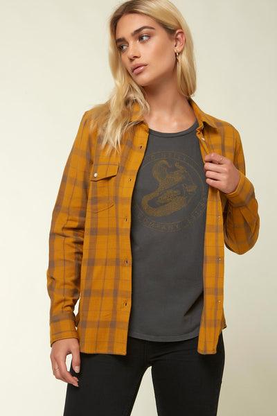 Nash Flannel Plaid Top | O'Neill Clothing USA
